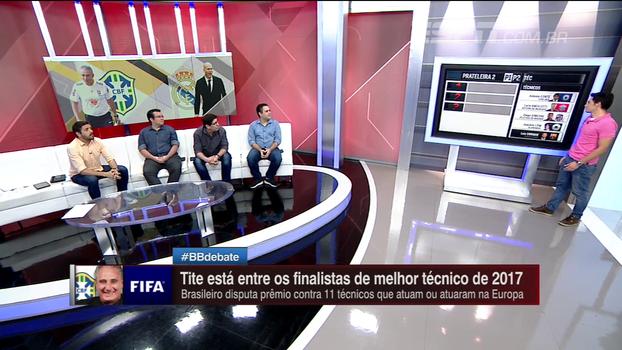 Zidane, Guardiola, Ancelotti; comentaristas do BB Debate analisam e escolhem melhores técnicos do mundo