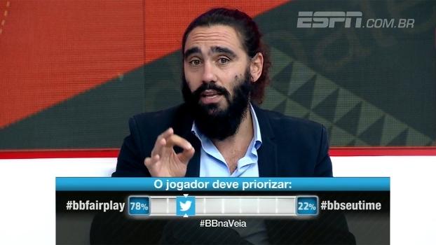 Sorín e Calçade comparam comportamentos de Ponte Preta e Palmeiras: 'Um concentrado, outro mais relaxado'