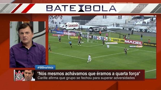 Mauro vê Corinthians com as mãos no título e diz: 'Responsabilidade pesou para a Ponte'