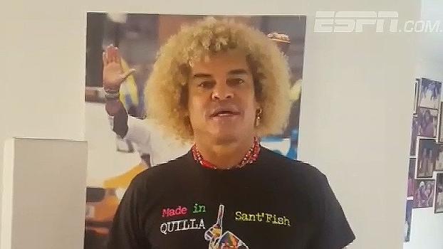 Valderrama fala da atual geração colombiana e lembra de classificação à Copa de 90: 'Fantástico'
