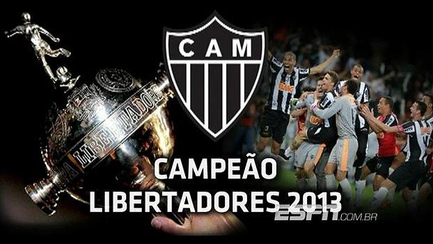 Do sofrimento à glória: relembre a trajetória do Atlético-MG na Libertadores