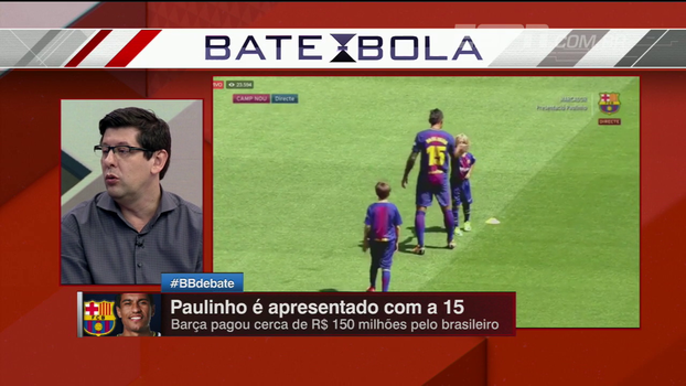 'O grande cartão de visitas dele é a seleção', Celso Unzelte analisa chegada de Paulinho no Barcelona