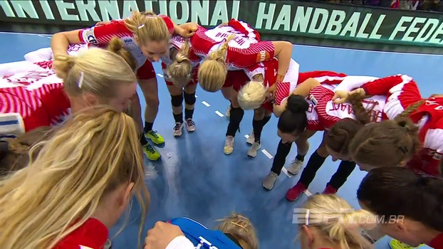 Brasil perde de virada para Dinamarca no Mundial de handebol feminino