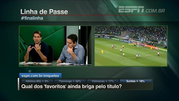Arnaldo diz quais times ainda brigam pelo título brasileiro e já tira alguns da luta; veja