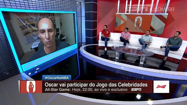 Ex-companheiro de Oscar, Cadum comenta homenagens ao Mão Santa: 'Me sinto orgulhoso'