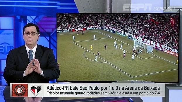 Antero vê Atlético-PR mais confiante e pede calma ao São Paulo: 'Tem espaço para reagir'