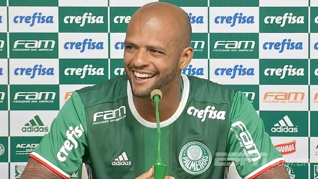 Felipe Melo brinca com erro de diretor do Corinthians: 'O pitbull de verdade está aqui'