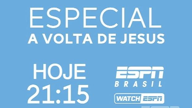 Especial: A volta de Gabriel Jesus, nesta quarta, às 21h15, na ESPN Brasil