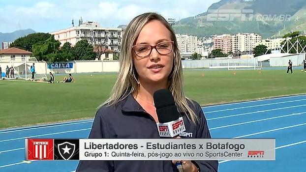 Viagem para Argentina e desfalques no time; Bibiana Bolson traz as informações do Botafogo