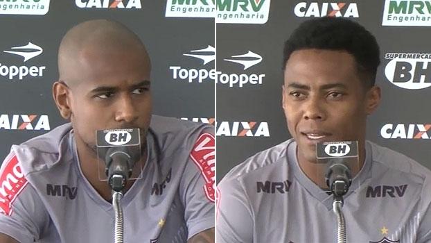 Felipe Santana e Elias aprovam chegada de reforço ao Atlético-MG: 'Todo mundo é bem-vindo'