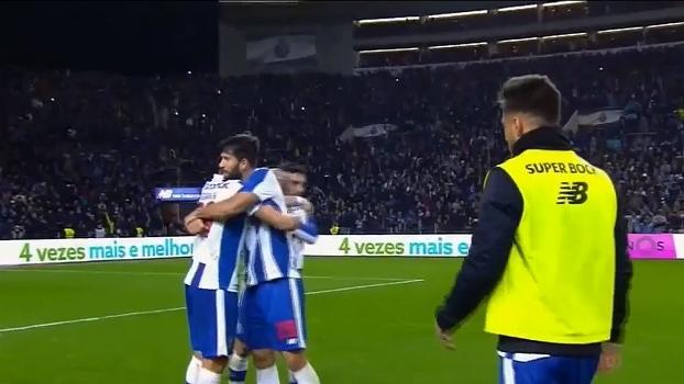 Português: Gols de Porto 2 x 1 Sporting