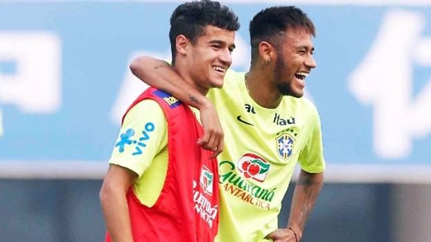 Veja entrevista em que Neymar 'pede' Philippe Coutinho no Barcelona