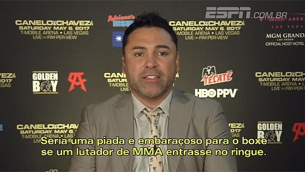 Lenda do boxe, Oscar De La Hoya diz que Mayweather x McGregor seria embaraçoso para a modalidade