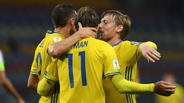 Suécia goleia Belarus e mantém vantagem para a Holanda no Grupo A