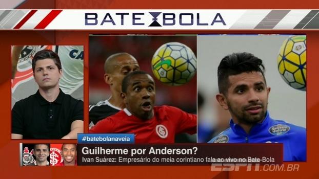 Guilherme no Inter? Empresário do jogador fala com o Bate-Bola sobre suposta troca por Anderson