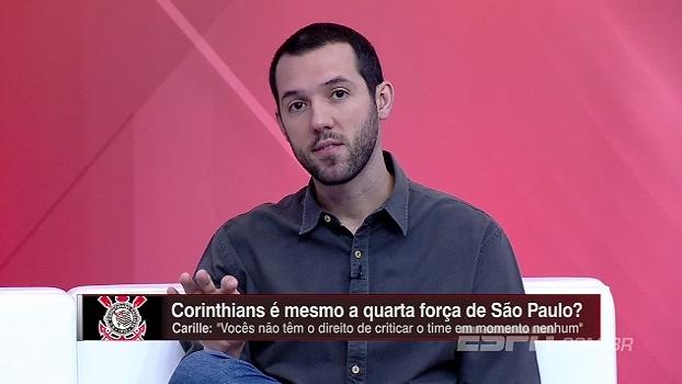 Hofman elogia rendimento do Corinthians no Paulista: 'Foi acima da expectativa'