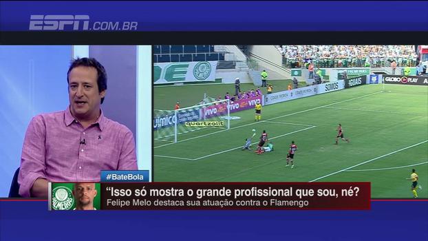 Gian Oddi diz que Palmeiras fez o suficiente para vencer 'um Flamengo que é praticamente acéfalo'