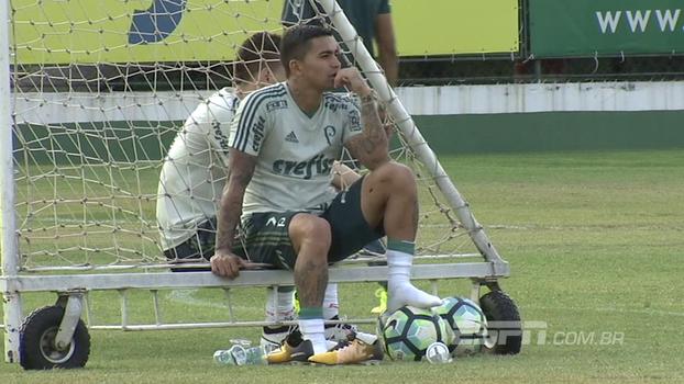 Sequência para definir meta final e visita de Hernanes a Jean: André Linares mostra como foi o dia do Palmeiras