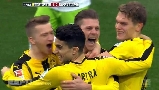 Bundesliga: Gols de Borussia Dortmund 3 x 0 Wolfsburg