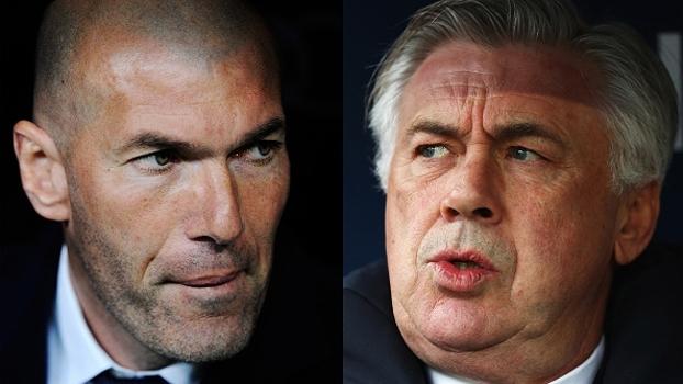 Ancelotti fala em 'jogo muito especial' contra o Real; Zidane não vê Bayern com medo