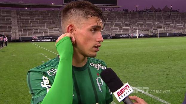 Aníbal, herói palmeirense do sub-17, fala sobre a vitória na ida da final e a mentalidade da base do clube