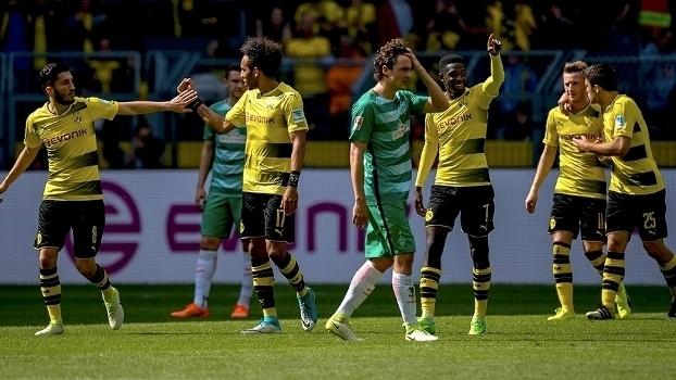 Assista aos gols da vitória do Borussia Dortmund sobre o Werder Bremen por 4 a 3