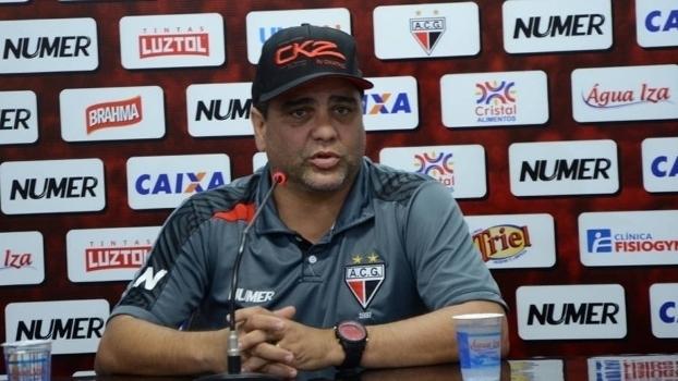 Diretor do Atlético-GO diz que reunião decidirá futuro de Marcelo Cabo e pondera: 'Ele é humano'