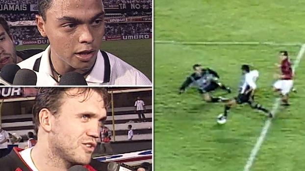 Dodô fez 5 gols em 2 jogos, Santos atropelou o Fla de Petkovic e foi à semi em 2000; relembre