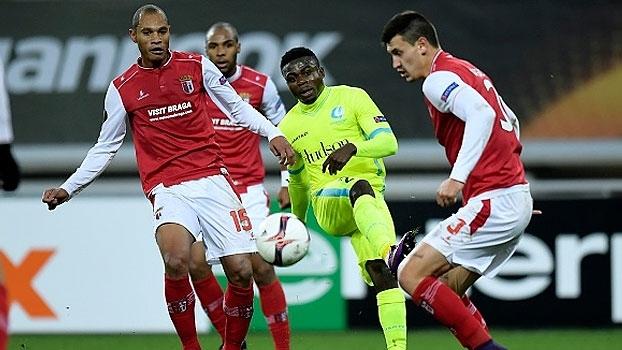 Braga sofre empate do Gent e não garante classificação no grupo H
