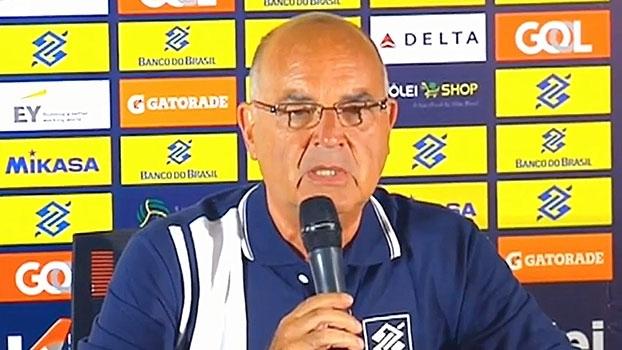 Veja o anúncio do diretor da CBV, falando sobre a saída de Bernardinho