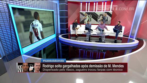 Milton Mendes x Rodrigo; BB Bom Dia analisa vídeo do jogador após demissão do técnico