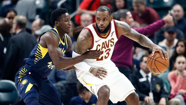 NBA: Lances Indiana Pacers 106 x 102 Cleveland Cavaliers
