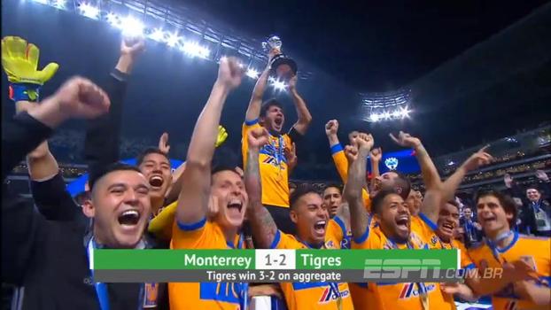 Com gol de ex-Grêmio, Tigres vira contra Monterrey e fatura o Torneio Apertura no México