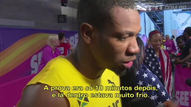 Blake revela mau pressentimento de Bolt antes de revezamento; Natalie Gedra traz o melhor do dia no Mundial de atletismo