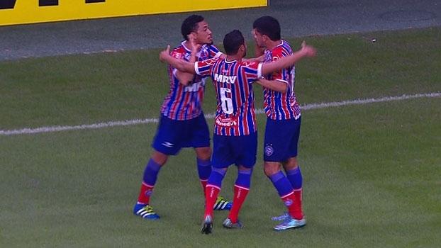 Série B: Gols de Bahia 2 x 0 Oeste