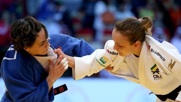 Brasil conquista cinco medalhas no 2º dia do Grand Slam de judô em Abu Dhabi; assista