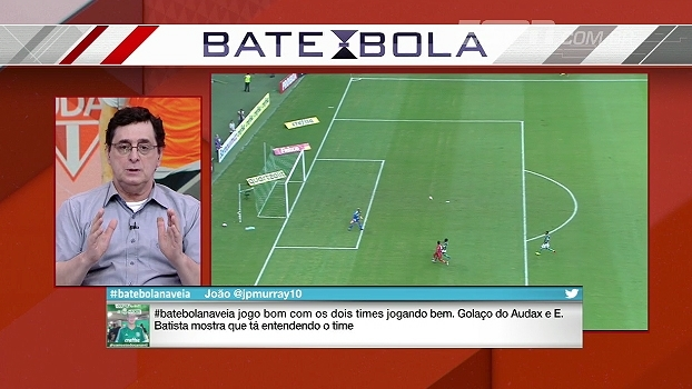 Antero: 'A diferença entre os titulares e reservas do Palmeiras não é grande'