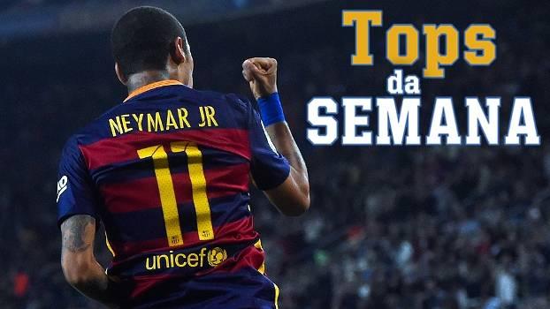 Neymar arrebenta no papel de Messi, Sterling faz hat-trick e Bayern bate novo recorde no Tops da Semana