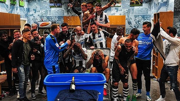 Newcastle está de volta a Premier League! Veja imagens do acesso