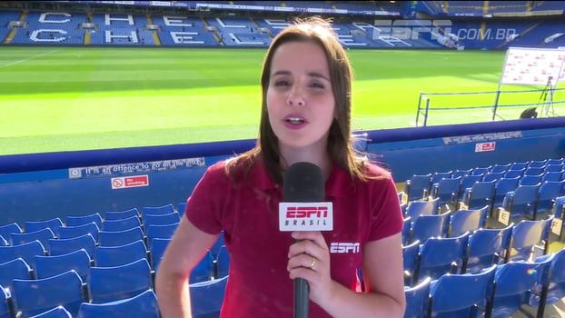Natalie Gedra mostra como foi a trágica estreia do Chelsea na Premier League