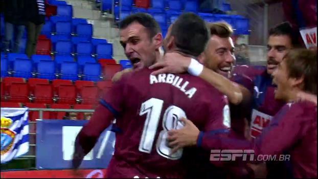 Assista aos melhores momentos da vitória do Eibar sobre o Espanyol por 3 a 1!