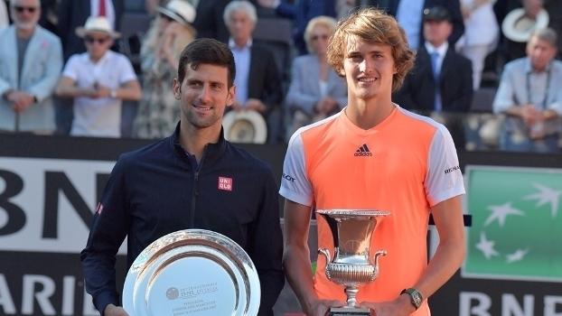 Veja lances da vitória de Alexander Zverev sobre Novak Djokovic por 2 sets a 0
