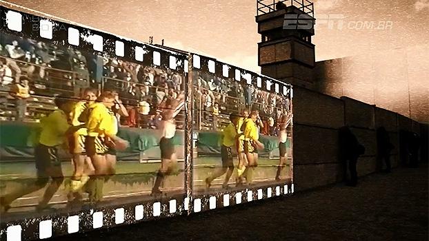 O muro e o futebol: Com unificação alemã, lado oriental perdeu hegemonia para 'dinheiro ocidental'