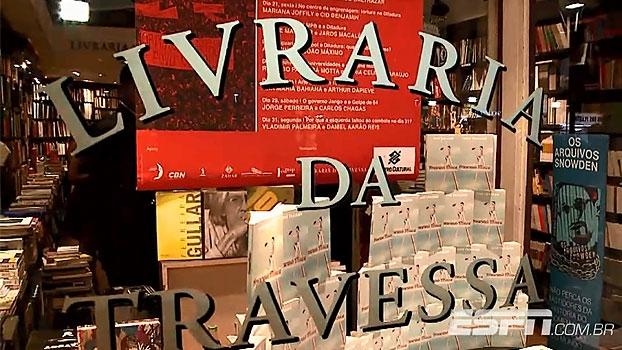Em clima descontraído, Trajano lança 'Procurando Mônica' no Rio de Janeiro