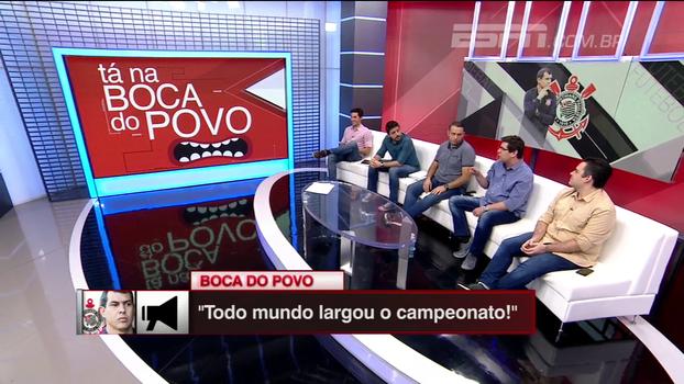 Tá na boca do povo: Com times 'largando' o campeonato, Corinthians já é campeão?
