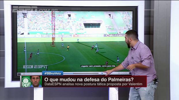 DataESPN: Veja como a defesa do Palmeiras se adaptou e anulou o Flamengo
