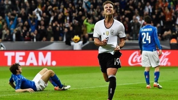 Assista aos melhores momentos da vitória da Alemanha sobre a Itália por 4 a 1!