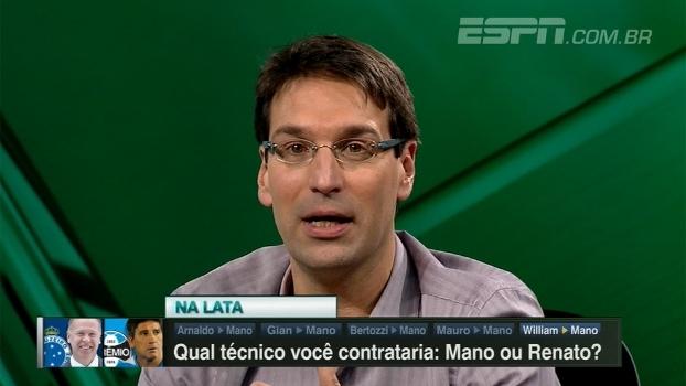 Arnaldo analisa momento de Mano Menezes: 'Tem se perdido em situações extra-campo'