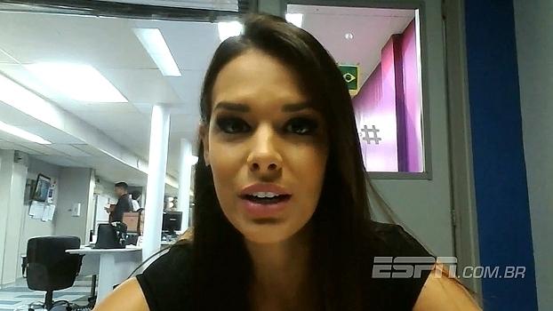 Apresentadora da Botafogo TV fala sobre festa da torcida em classificação na Libertadores