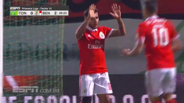 Veja os melhores momentos de Tondela 1 x 5 Benfica